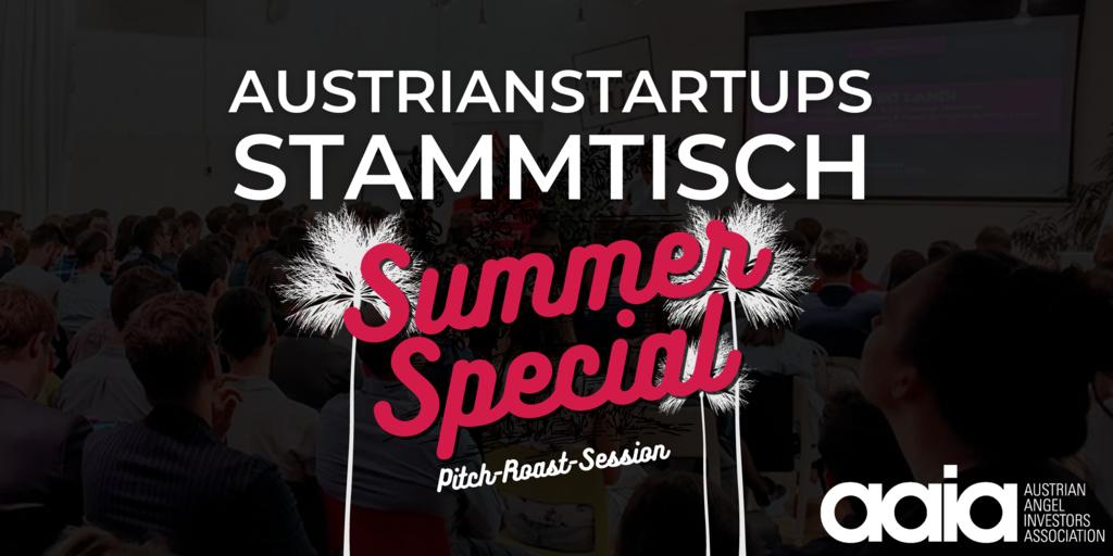 AustrianStartups Stammtisch-aaia-pitch roast session